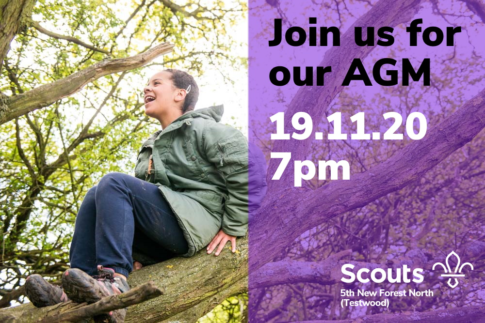 Join us for our AGM 19.11.20 7pm